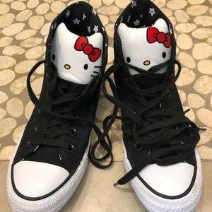 Converse Hello Kitty High Tops 7.5